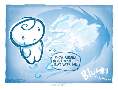BluBoy: CS - Snow Angels by bluBoyComics
