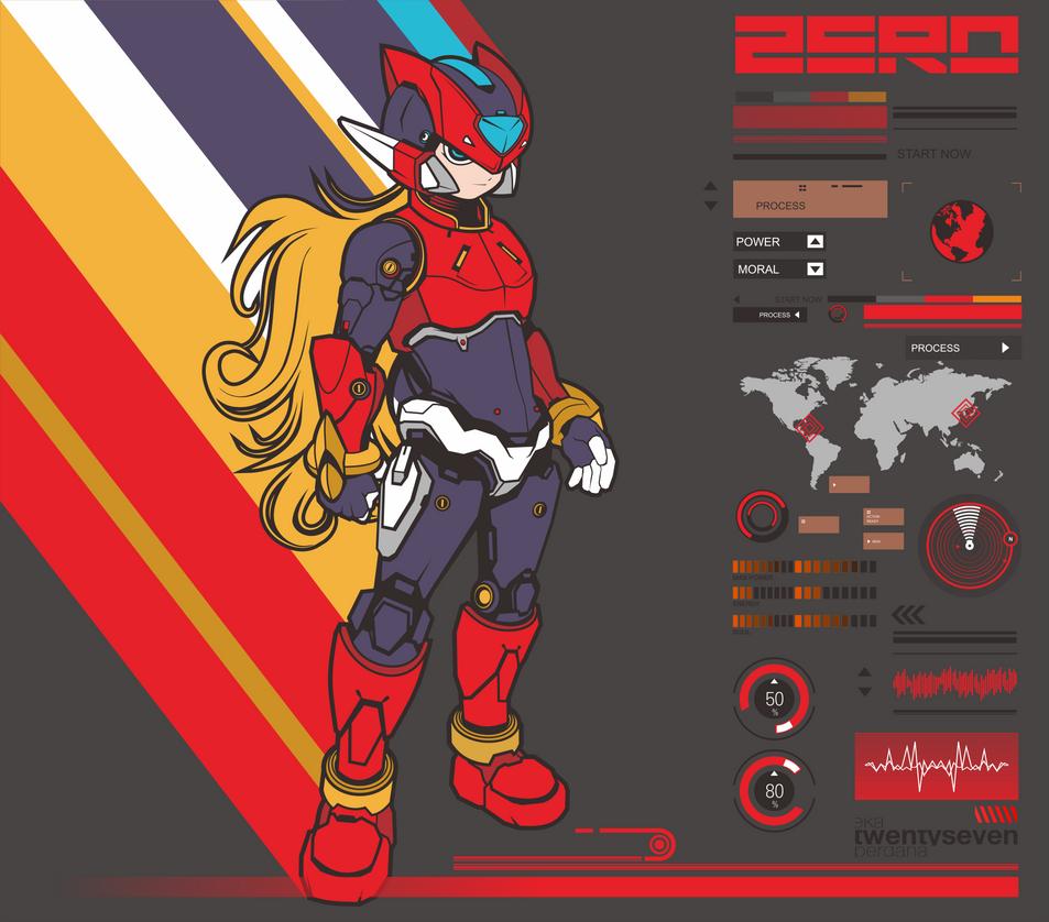 Megaman Zero by ky27