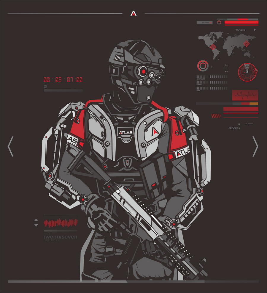 ATLAS Suit - COD AW by ky27 on DeviantArt