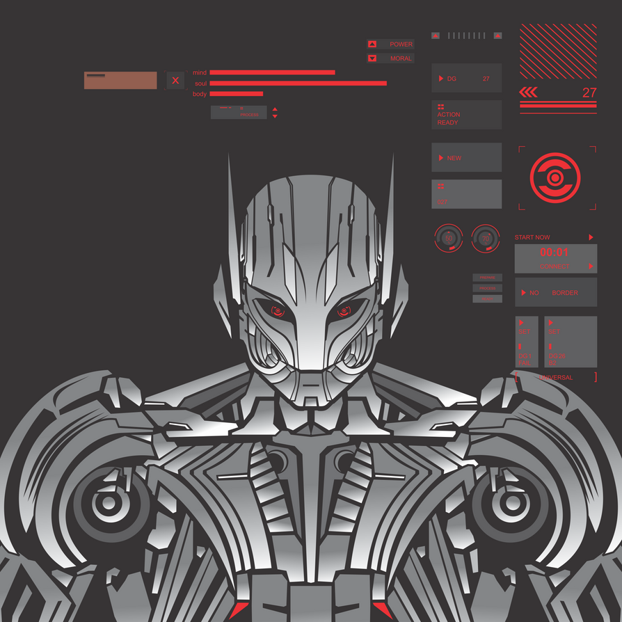 Ultron Prime by ky27