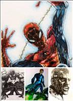 Spiderman vs his enermies by WB940618