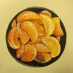 Orange drawing