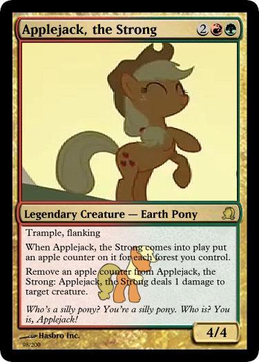 Applejack by jrk08004