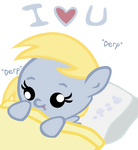 Baby Derpy Loves You