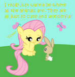 Fluttershy and Animals: Tumblr First Post