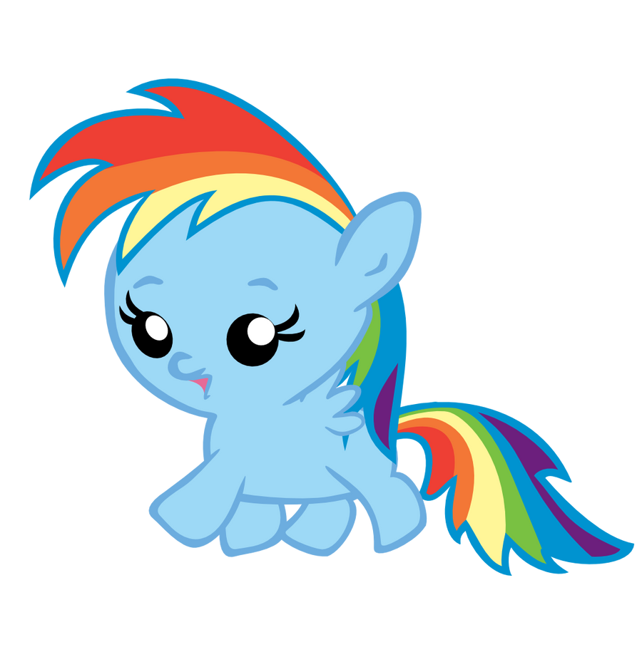 Baby Rainbow Dash Png Baby Rainbow Dash Running by