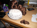 Baby Cakes plushies - work in progress -