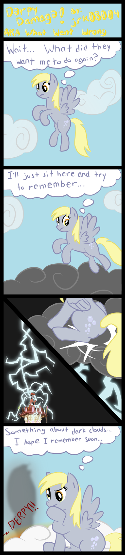 Derpy Damage AKA What went wrong by jrk08004