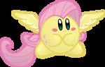 Fluttershy Kirby