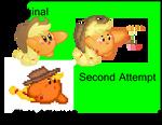 Applejack Kirby Sprite Improved