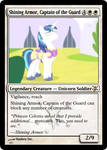 Shining Armor, Captain of the Guard