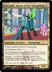 Chrysalis, Queen of the Changelings