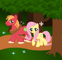 Fluttermac in the Forest