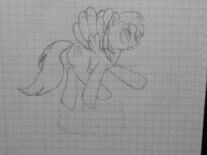 Derpy Hooves: Tripping on a Cloud