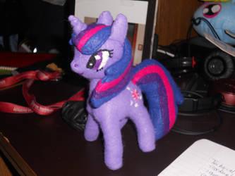 Twilight Sparkle Plushie: Finally Done