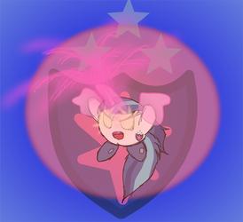 'Freehand' Shining Armor Kirby