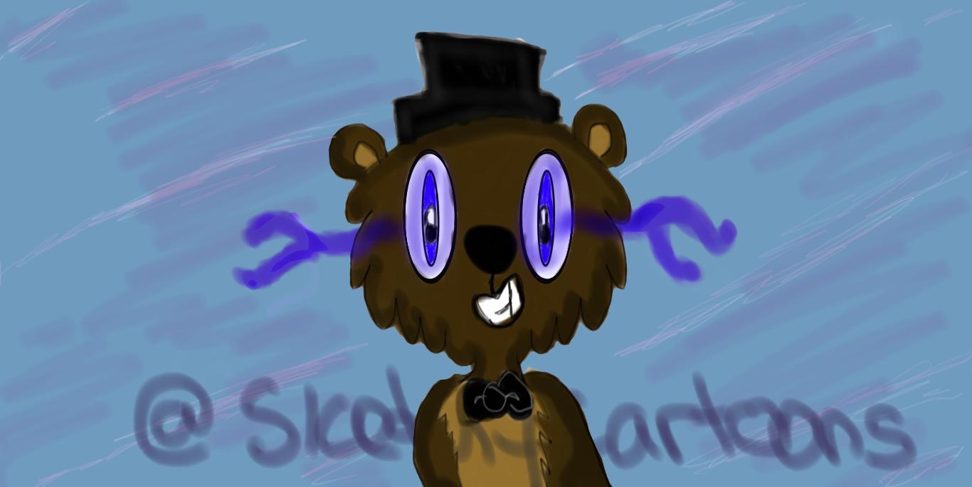 Fred Bear by HoneyMunchkinArts