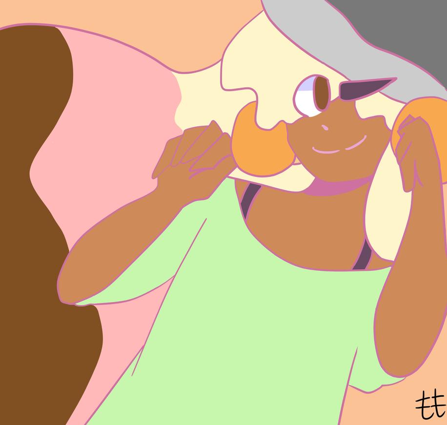 Ice cream girl yeet by HoneyMunchkinArts