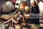Natalie Portman|Princess Leia Slave|Jabba The Hutt