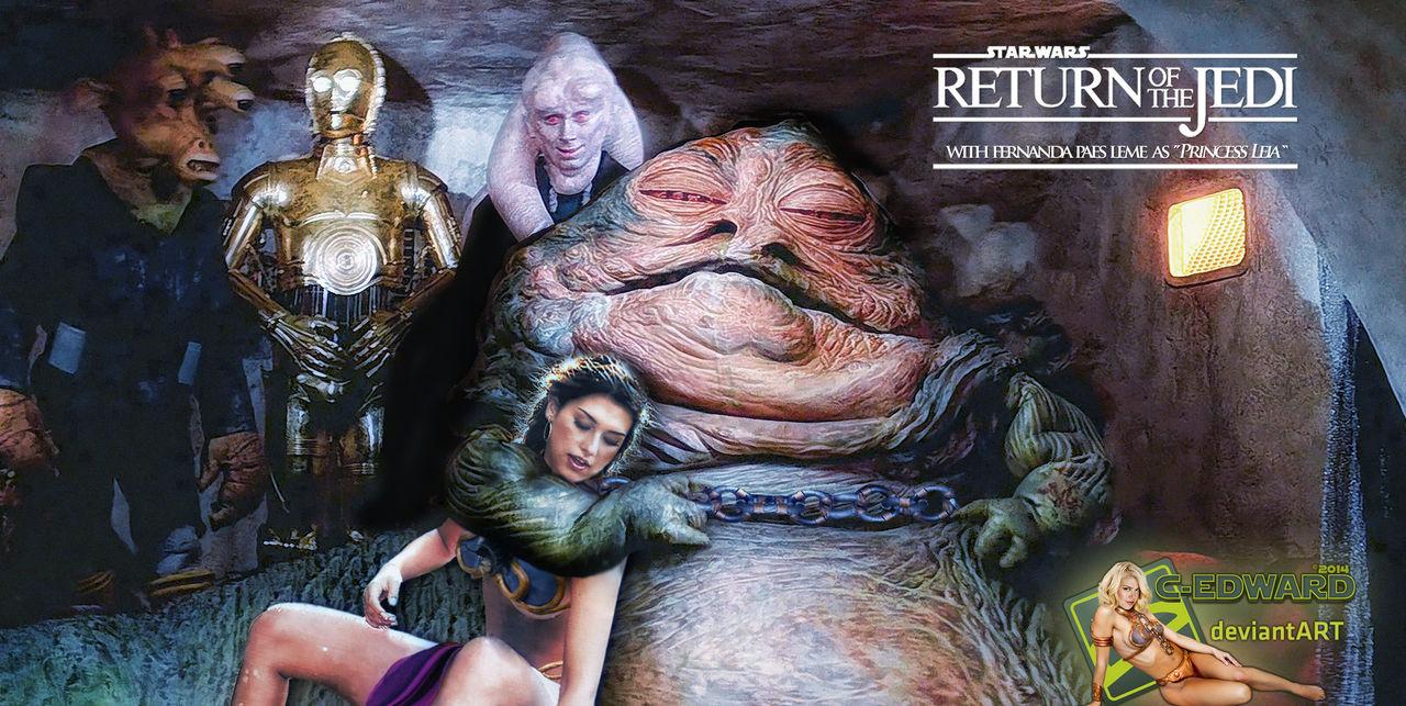 Fernanda Paes Leme-Jabba-Bib Fortuna-C3PO by c-edward on DeviantArt