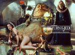 Anne Hathaway|Princess Leia Slave|Jabba|Bib