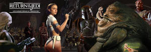 Natalie Portman|Leia Slave|Captured by Jabba Hutt