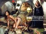 Sandra Bullock|Princess Leia Slave|Jabba Hutt|Bib