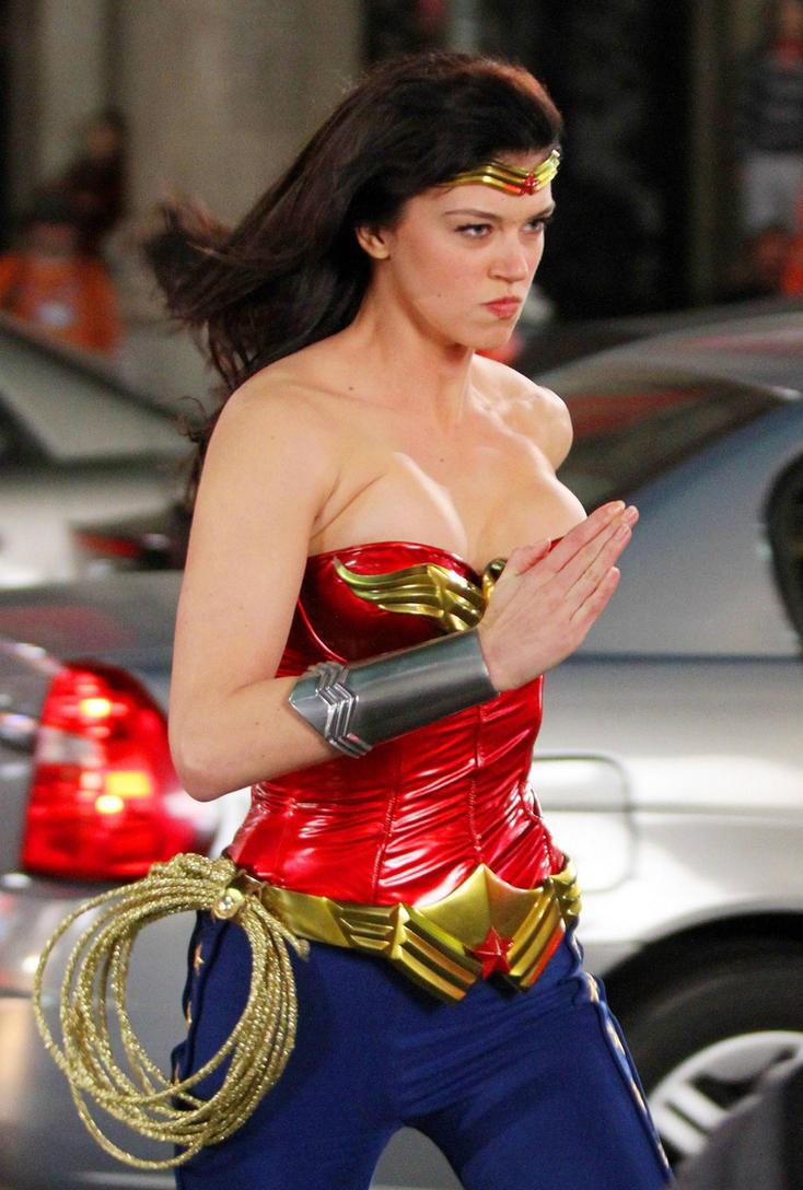 Adrianne Palicki Wonder Woman By C Edward On Deviantart