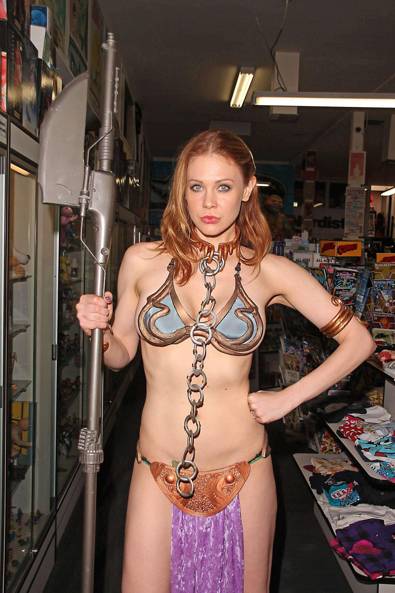 Amateur slave leia star wars cosplay blowjob amp cim - 5 2