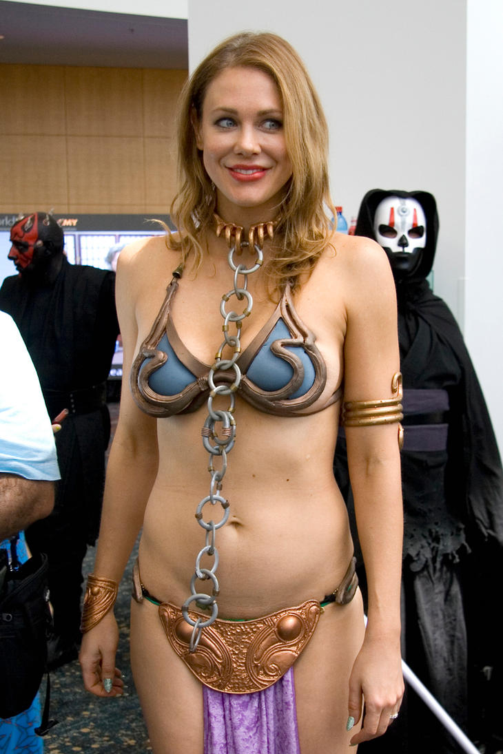 Amateur slave leia star wars cosplay blowjob amp cim 3
