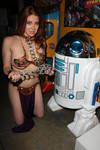 Maitland Ward|Leia Slave|The Fourth Star Wars Day