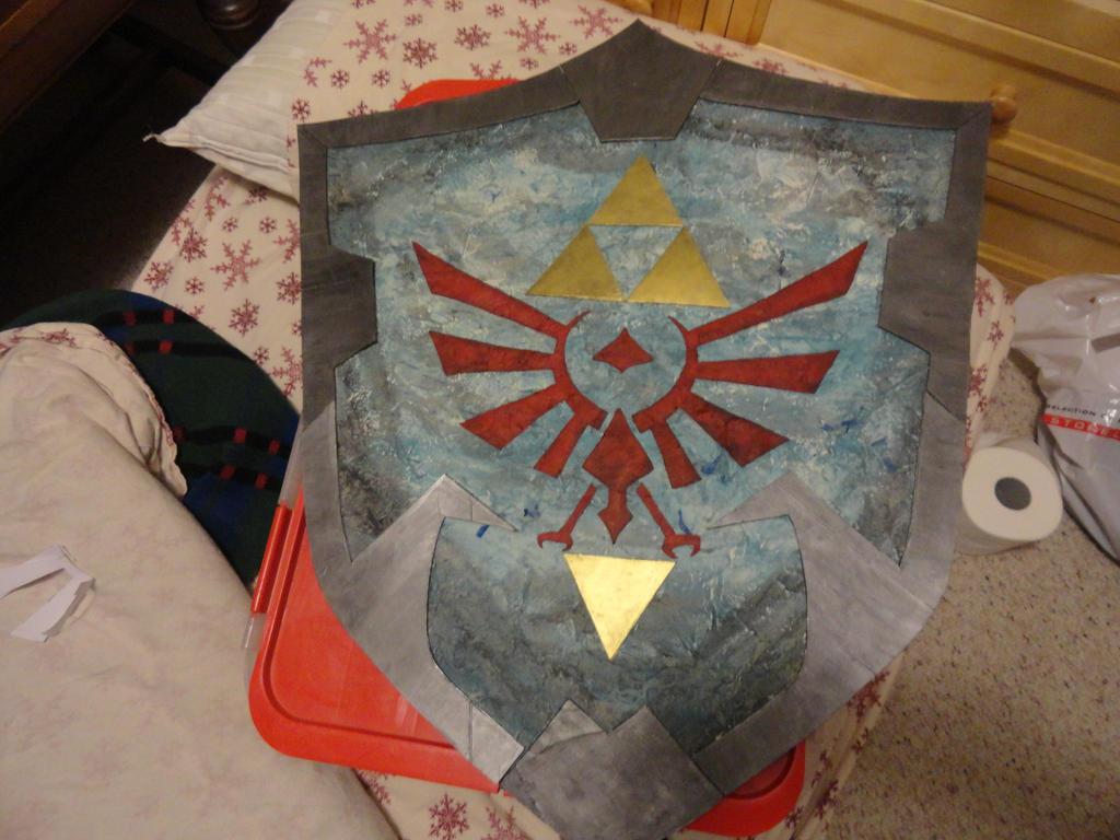 LOZ Shield Finished!