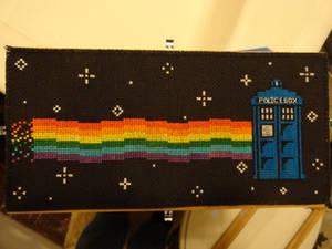 Nyan Cat Tardis!
