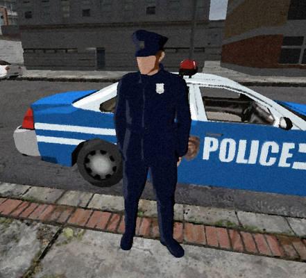 Cop and Car