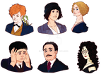 Fantastic Beasts stickers + Bellatrix preview
