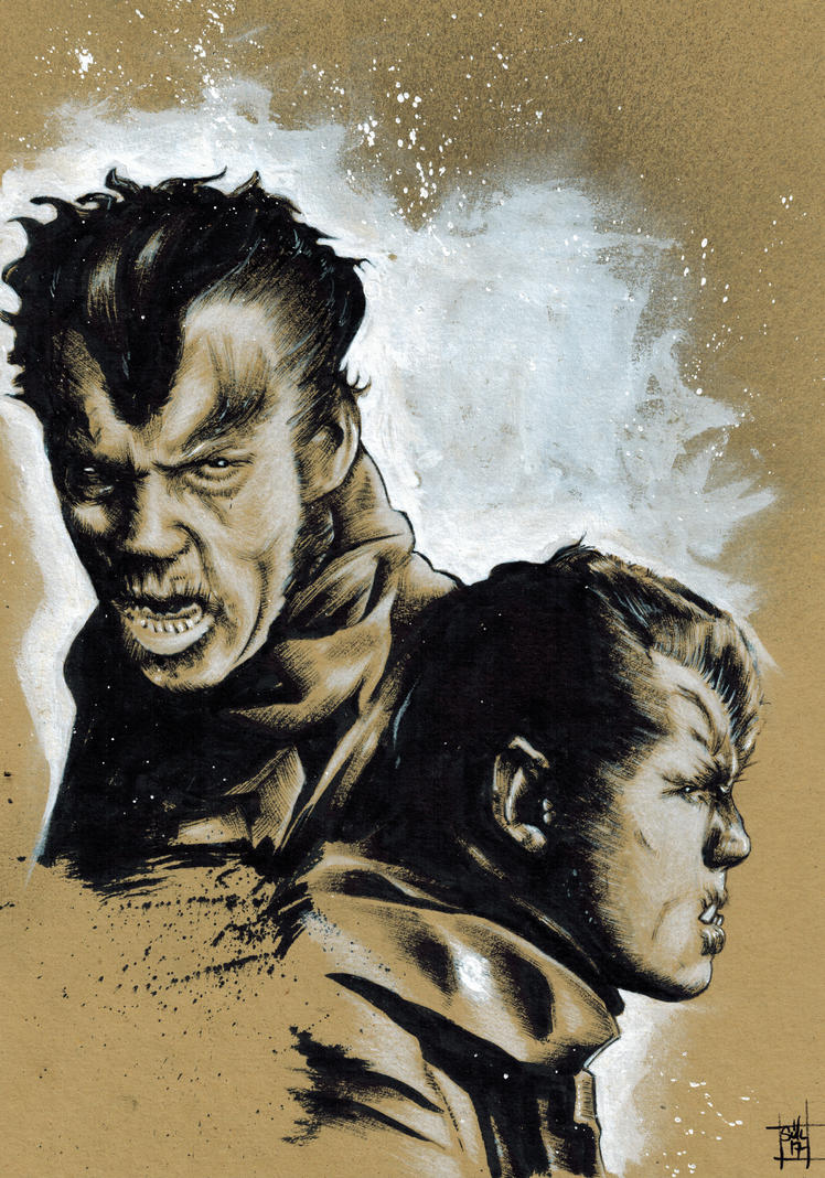 Classic Monsters #3 - Wolfman by skunk4gwop