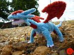 #373- Salamence Pipe Cleaner Figure (COMM)