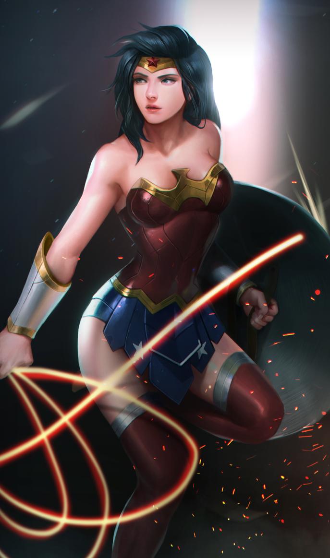 Wonderwoman by Louie-Oh