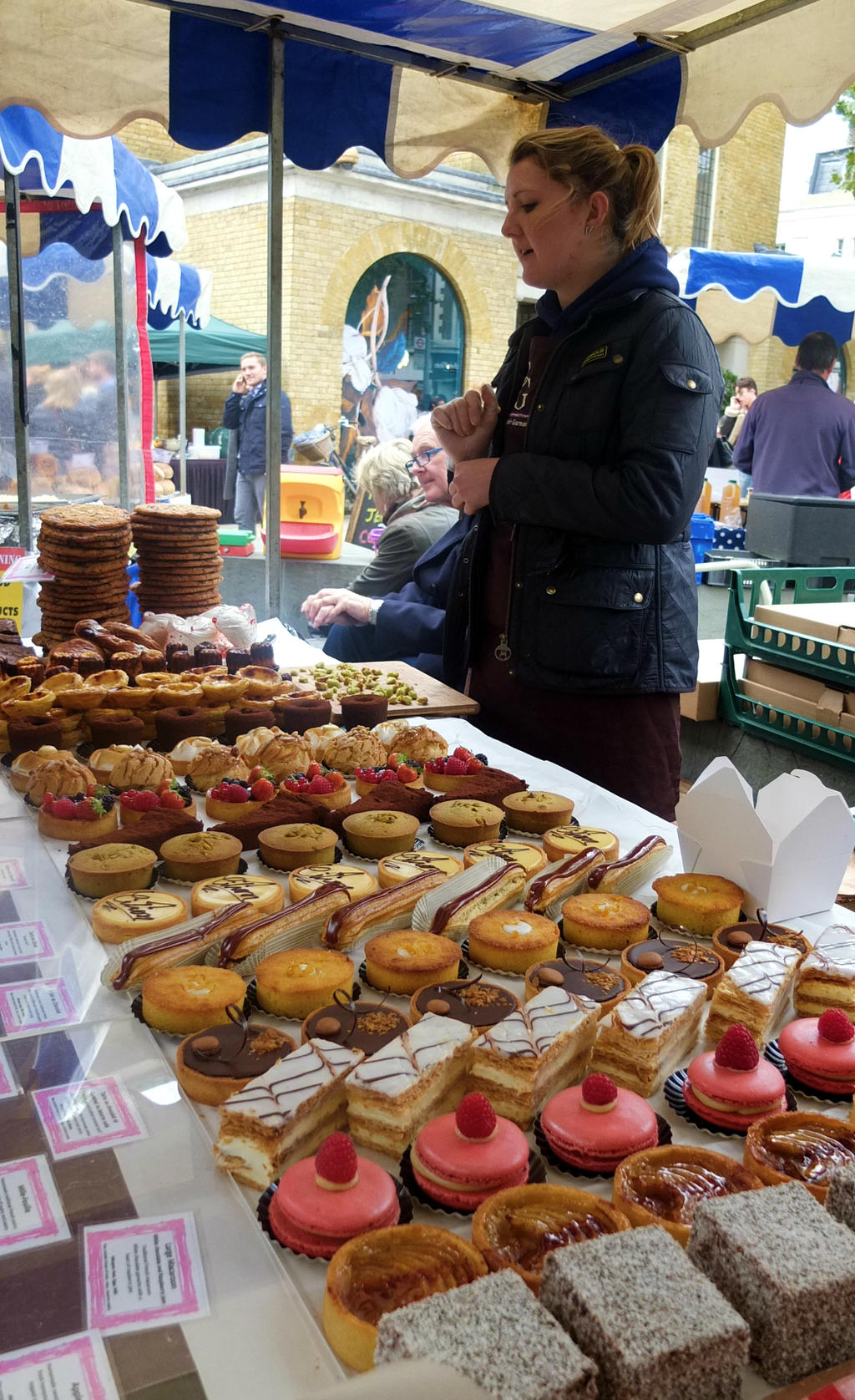 Food Market Duke Of York Square