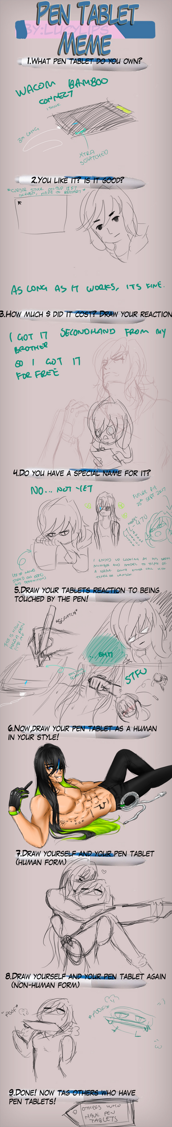Tablet Meme by LAAPPLEPIE