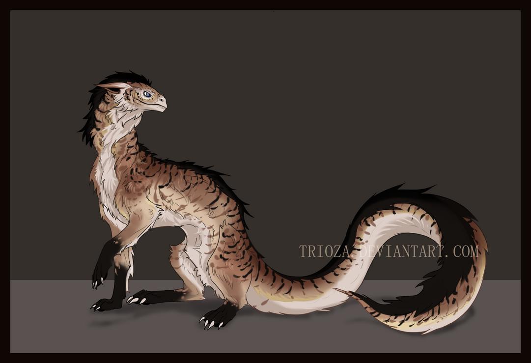 Dragon Design Auction #16 [CLOSED] by Trioza