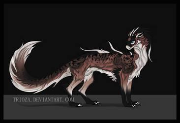 Dragon Design Auction #18 [CLOSED] by Trioza