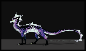 Dragon Design Auction #20 [CLOSED] by Trioza