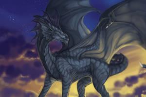 Dragon Ych for Belen by Trioza