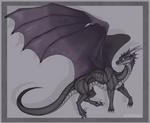 Dragon fullbody for Akkero [Commission]