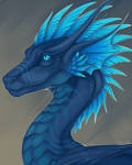 Dragon Portrait for Xeelay [Commission]