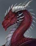 Dragon Portrait for Kaage [Commission]