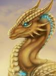 Dragon Portrait for chrissi1997 [Commission]