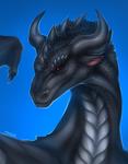 Dragon portrait for Drakhian [Commission]