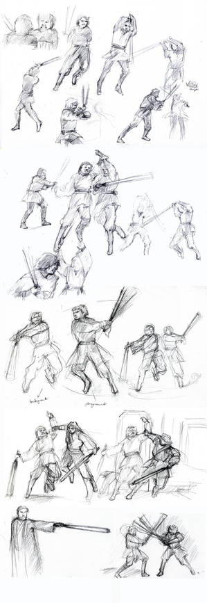 Battle of the Heroes -sketch-